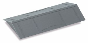 Peco OO R-36 Salt Wagon Roof black plastic moulding