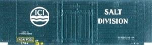 Peco OO R-58ICI Salt ICI blue
