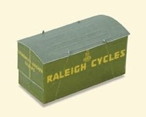Peco OO R-66R Container Raleigh green