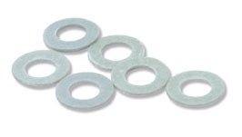 Peco OO R-9 Washers type OO/O/8 fibre 3.175mm 18in dia. hole