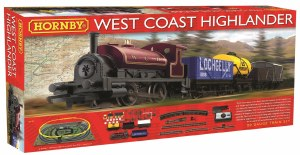 Hornby OO R1157 West Coast Highlander Train Set