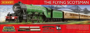 Hornby OO R1167 Flying Scotsman Train Set including Three Coaches