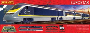 Hornby OO R1176 Eurostar Train Set