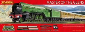 Hornby OO R1183 Master of the Glens Train Set