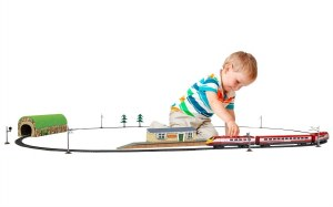 Hornby OO R1215 Hornby Junior 'Express Train' Battery Train Set