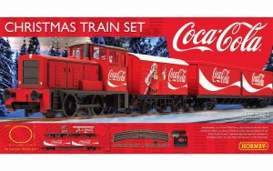 Hornby OO R1233 The Coca-Cola Christmas Train Set