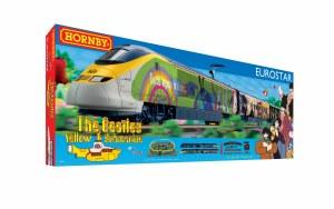 Hornby OO R1253M Eurostar 'Yellow Submarine' Train Set