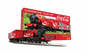 Hornby OO R1276M Summertime Coca-Cola Train Set