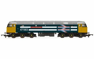 Hornby RailRoad OO R30040TTS BR, Class 47, Co-Co, 47583 'County of Hertfordshire' - Era 7