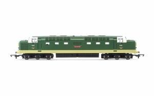 Hornby RailRoad OO R30048TTS BR, Class 55, Deltic, Co-Co, D9018 'Balymoss' - Era 6