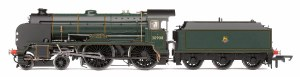 Hornby OO R3311 BR 4-4-0 'Westminster' Schools Class, BR Green (Small Chimney)