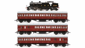 Hornby OO R3397 LMS Suburban Passenger Train Pack - Limited Edition