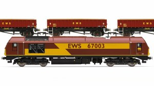 Hornby OO R3399 EWS Freight Train Pack - Limited Edition