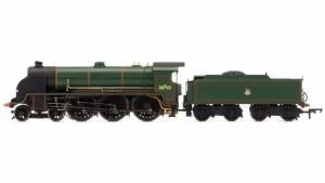 Hornby OO R3456 BR 4-6-0 Sir Hervis de Revel N15 King Arthur Class - Early BR