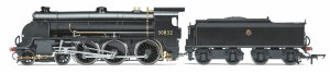 Hornby OO R3507TTS BR 4-6-0 '30832' S15 Class, Early BR with TTS Sound