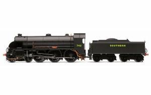 Hornby OO R3527 SR 4-6-0 'Camelot' '742' N15 King Arthur Class