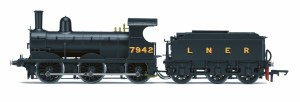 Hornby OO R3529 LNER 0-6-0 '7942' J15 Class