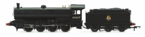 Hornby OO R3542 BR 0-8-0 '63427' Raven Q6 Class, Early BR