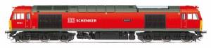 Hornby OO R3605TTS DB Schenker Class 60 Co-Co 60044 'Dowlow'