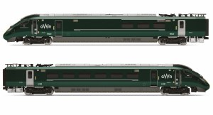 Hornby OO R3609 Class 800/0 IEP Bi-Mode GWR Train Pack