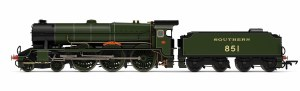 Hornby OO R3634 Lord Nelson Class 4-6-0 SR 851 'Sir Francis Drake'