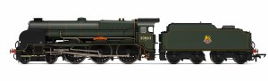 Hornby OO R3635 Lord Nelson Class 4-6-0 BR 30863 'Lord Rodney'