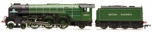 Hornby RailRoad OO R3663TTS Peppercorn A1 Class 4-6-2 BR 60163 'Tornado'