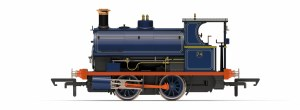 Hornby OO R3679 Port of London Authority, Peckett W4 Class, 0-4-0ST, No. 74 Era 3/4
