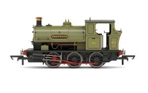 Hornby OO R3693X Sherwood Colliery Co. Ltd Peckett B2 Class 0-6-0ST No.4 'Sherwood'