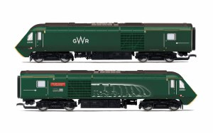 Hornby OO R3696 GWR Class 43 HST Power Cars 43093 'Old Oak Common - HST Depot 1976-2018' and 43016