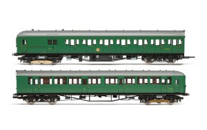 Hornby OO R3699 BR 2-HIL Unit 2611; (HAL) DMBT No. 10729 and (BIL) DTC(L) No. 12146