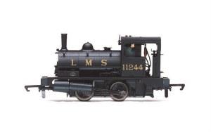 Hornby OO R3727 LMS Class 21 'Pug' 0-4-0ST 11244