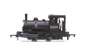 Hornby OO R3728 BR Class 21 'Pug' 0-4-0ST 51207