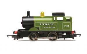 Hornby RailRoad OO R3752 S. Wilson Paper Mills 0-4-0T No. 2112