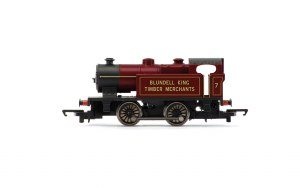Hornby RailRoad OO R3754 Blundell King Timber Merchants Type D 0-4-0T No. 7