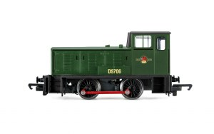 Hornby RailRoad OO R3755 BR Bagnall 0-4-0DH D9706