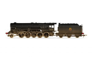 Hornby RailRoad OO R3756 BR (Heavily Weathered) Crosti Boiler 9F Class 2-10-0 92028