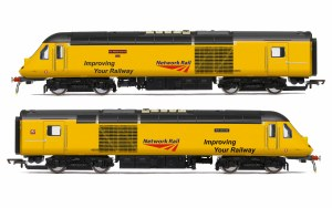 Hornby OO R3769 Network Rail, Class 43 HST, Power Cars 43013 'Mark Carne CBE' and 43014 'The Railway Observer' - Era 11