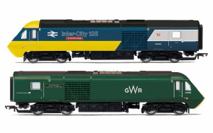 Hornby OO R3770 GWR, Class 43 HST, Power Cars 43002 'Sir Kenneth Grange' and 43198 - Era 11