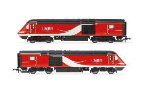 Hornby OO R3802 LNER Class 43 HST Power Cars 43315 and 43309