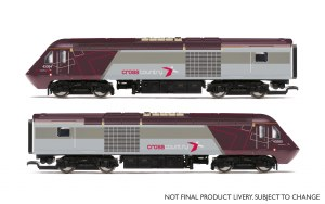 Hornby OO R3808 Cross Country Class 43 HST Power Cars 43285 and 43304