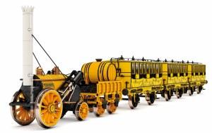 Hornby OO R3810 L&MR, Stephenson's Rocket Train Pack - Era 1