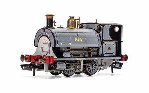 Hornby OO R3825 Peckett 614, Centenary Year Limited Edition - 2016