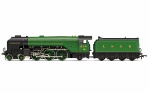 Hornby OO R3833 LNER, Thompson Class A2/3, 4-6-2, 514 'Chamossaire' - Era 3