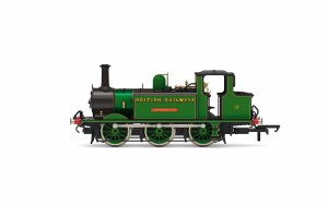 Hornby OO R3848 Transitional BR, 'Terrier', 0-6-0T, 13 'Carisbrooke' - Era 4