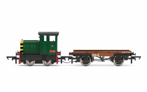 Hornby OO R3852 DVLR, Ruston & Hornsby 48DS, 0-4-0, 417892 'Jim' - Era 8