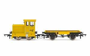 Hornby OO R3853 GrantRail Ltd, Ruston & Hornsby 48DS, 0-4-0, GR5090 - Era 9