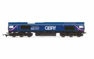 Hornby OO R3881 GBRf, Class 66, Co-Co, 66727 'Andrew Scott CBE' - Era 10