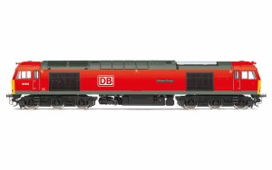 Hornby OO R3885 DB Cargo UK, Class 60, Co-Co, 60062 'Stainless Pioneer' - Era 11