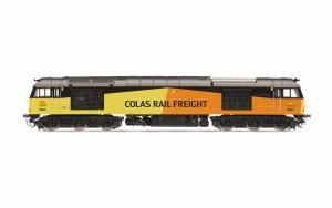 Hornby OO R3901 Colas Rail, Class 60, Co-Co, 60021 - Era 10
